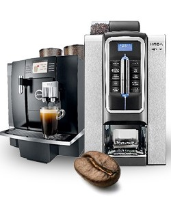Bean to cup commercial coffee machines