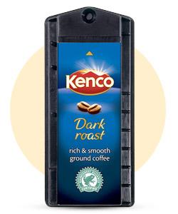 Dark Roast Kenco Singles Capsules