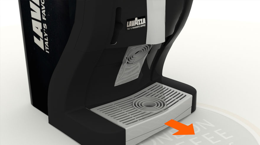 Lavazza Easy Pod Coffee Machine
