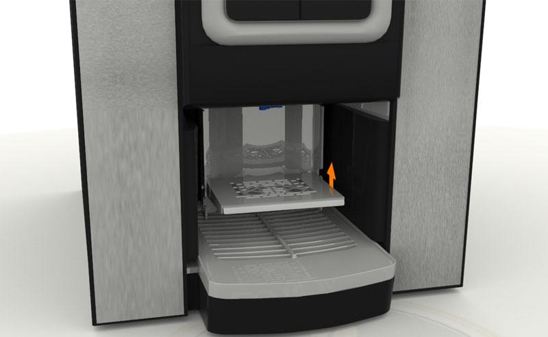 Krea Bean to cup machine