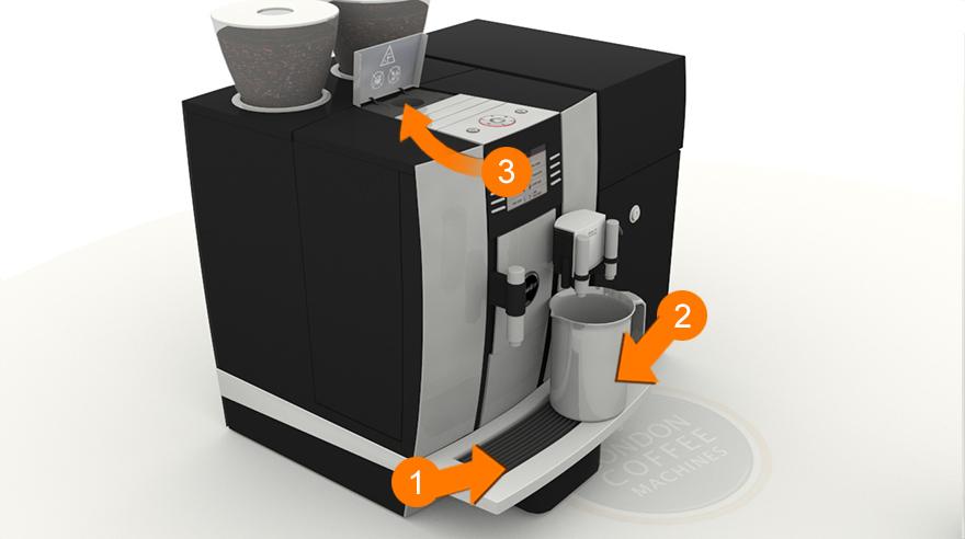 Cleaning Your Jura Giga X7 Coffee Machine London Coffee Machines