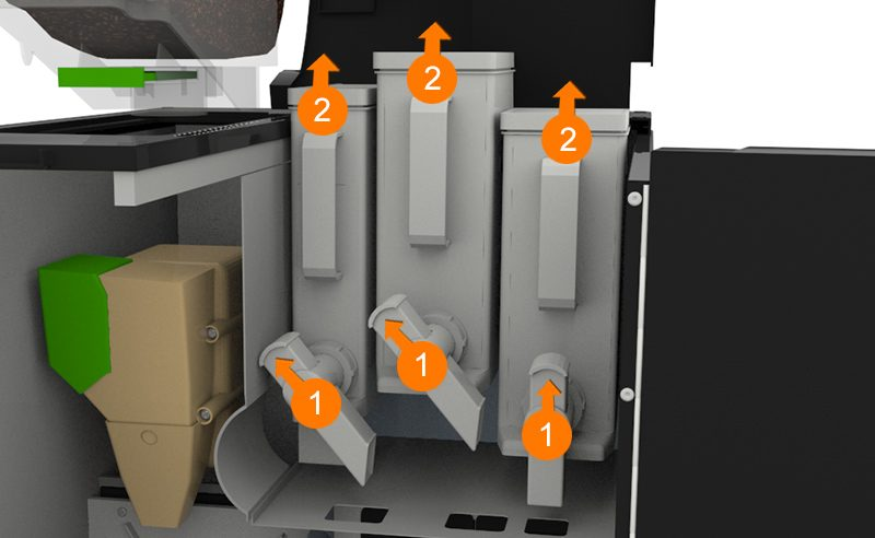 Cleaning Your Krea Touch London Coffee Machines