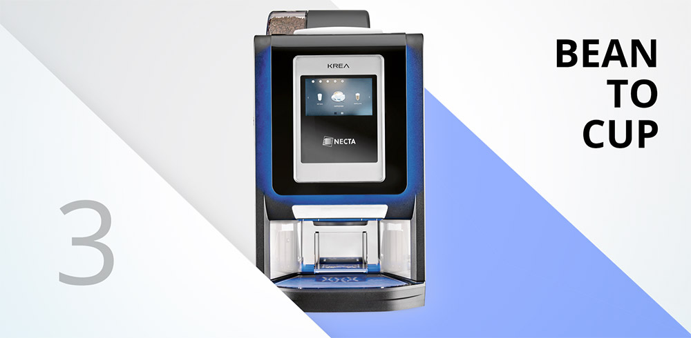 krea touch coffee machines for business